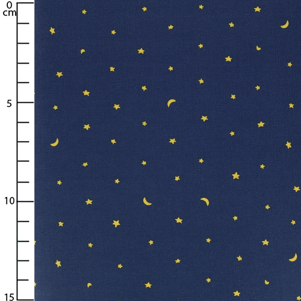 Coated fabric daily like twinkle sky starry night for Night sky fabric uk