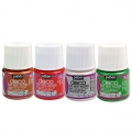 Opaque Acrylic decorative paint - Pearly Christmas Set 4 x 45 ml