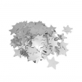 Metallic confetti for festive decoration Yey - Let's Party Silver Stars x1