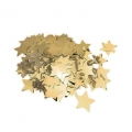 Metallic confetti for festive decoration Yey - Let's Party Golden stars x1