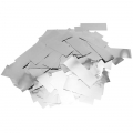 Metallic confetti for festive decoration Yey - Let's Party Silver Rectangle x1