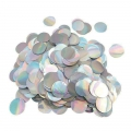 Metallic confetti for festive decoration Yey - Let's Party Round Iridescent x1
