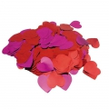 Metallic confetti for festive decoration Yey - Let's Party Heart Red/Pink x1