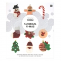 Creative Bubble Classical X-Mas/funny sponge crochet - BOOK IN FRENCH