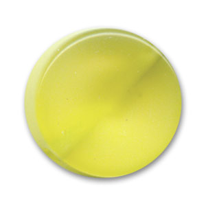 Polaris Puck glossy finish 16mm Lemon x1
