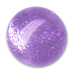 Polaris round bead spangles 18mm Light Purple x1